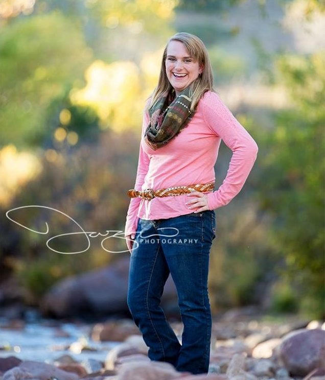 ovarian torsion | pediatric gynecology | University of Colorado OB-GYN | senior portrait of Peyton